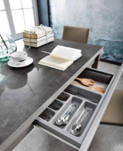 mesa de cocina encimera porcelánico